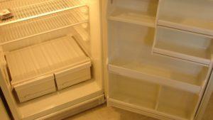 refrigerator after